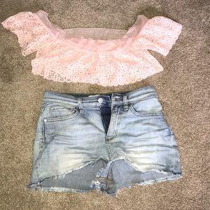 PINK Victoria's Secret Intimates & Sleepwear - Never worn! NWOT Pale pink lace Bralette